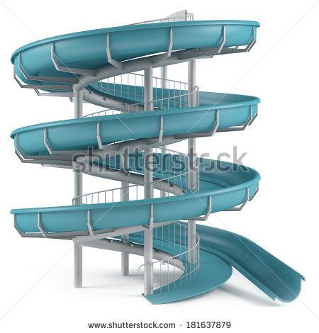 stock-photo-aquapark-slide-tube-isolated-181637879